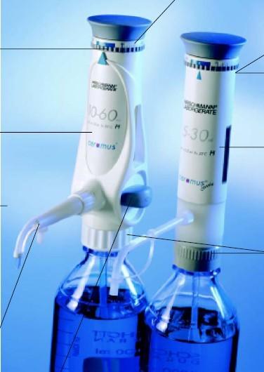 EM-dispenser PP有机型瓶口移液器
